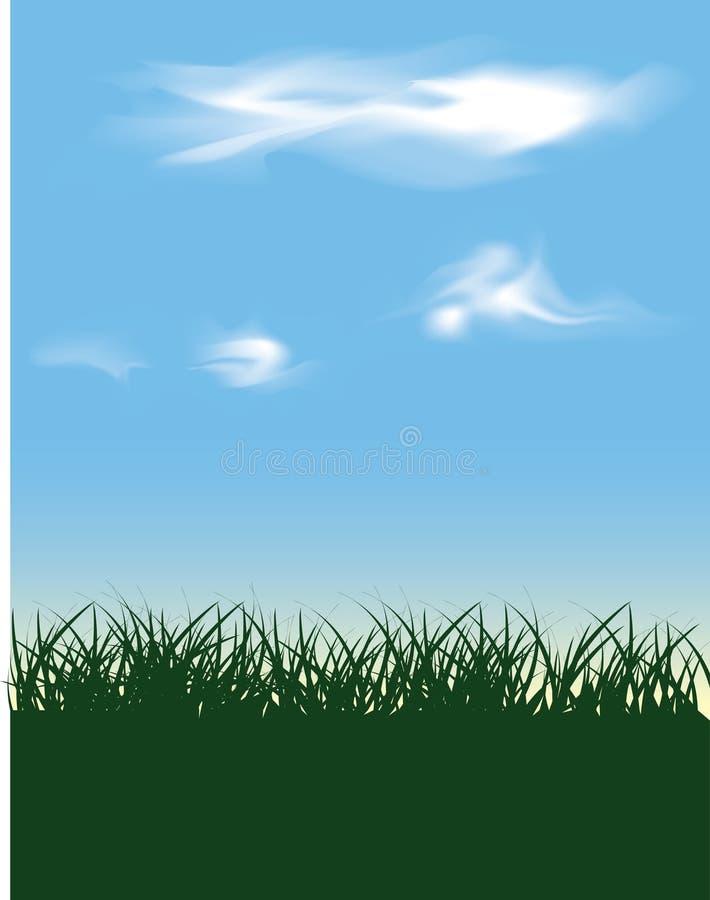 Fundo do céu ilustração do vetor