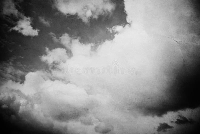 Fundo do céu de Grunge fotografia de stock royalty free