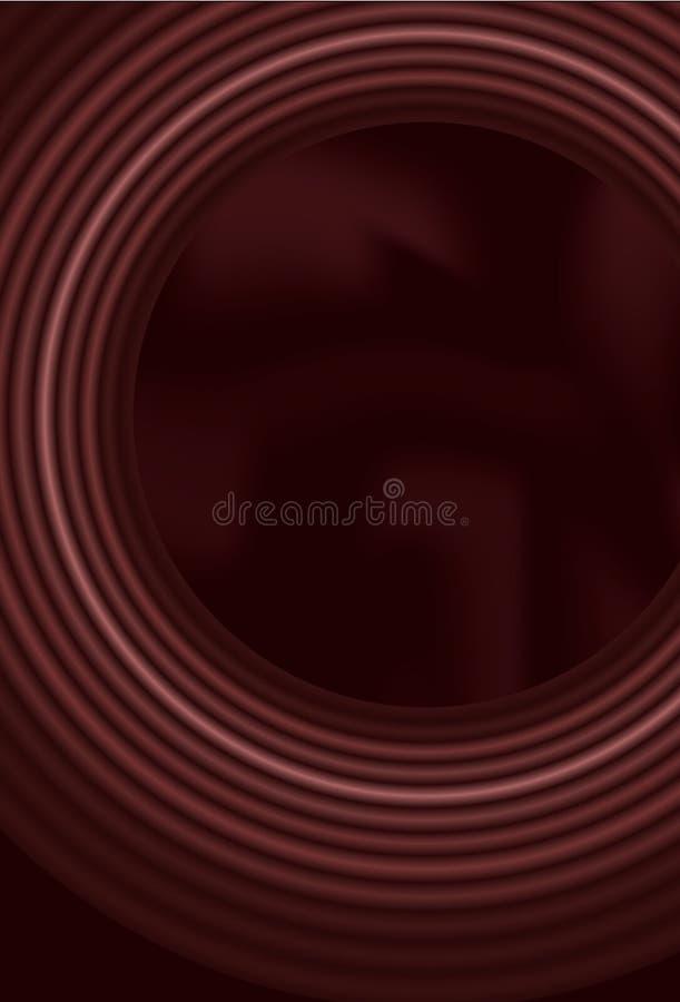 Fundo do círculo da mistura com engranzamento do inclinação ilustração stock