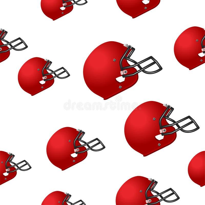 Fundo do capacete de Footbal fotos de stock
