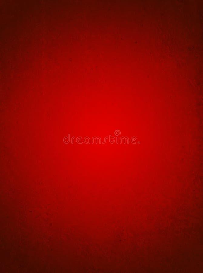 Fundo do cartão do Valentim. Fundo textured vermelho fotografia de stock