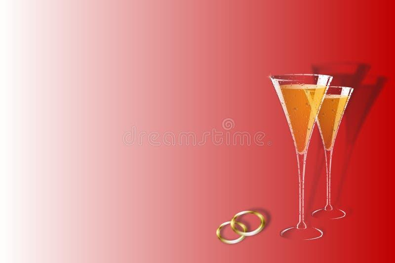 Download Fundo do casamento ilustração stock. Ilustração de casamento - 108701