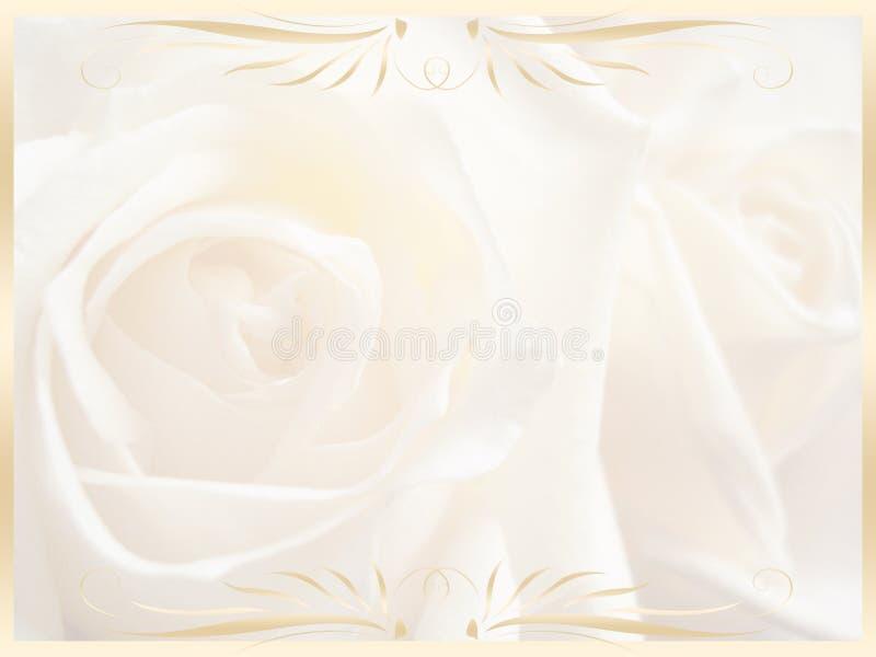 Fundo do casamento, convite foto de stock royalty free