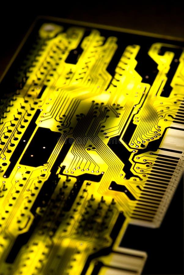 Fundo do circuito imagem de stock
