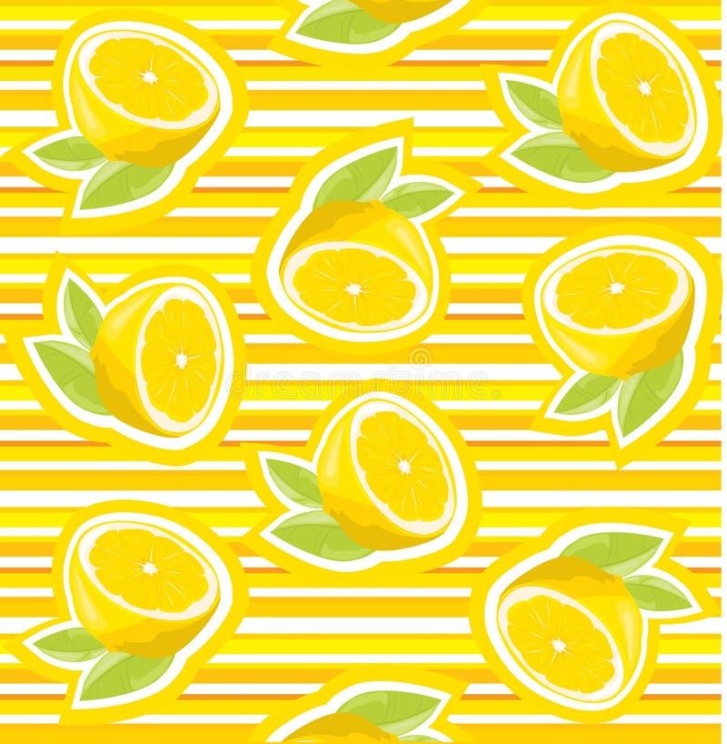 Fundo do citrino ilustração royalty free