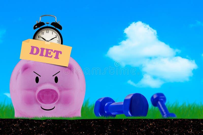 Fundo do conceito da dieta imagem de stock