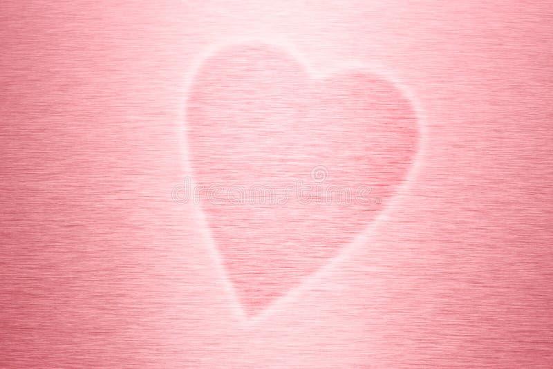Fundo do coração do amor imagens de stock