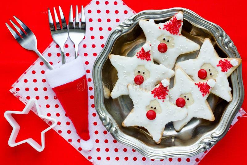 Download Fundo Do Cozimento Do Natal - Cookie Festiva Bonita Do Natal Foto de Stock - Imagem de claus, jantar: 80100072
