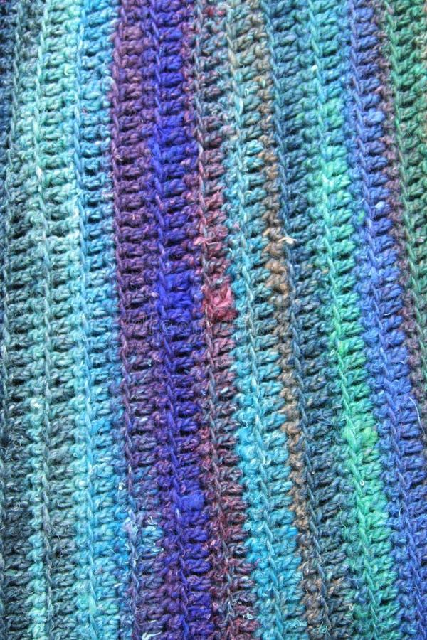 Fundo do Crochet foto de stock royalty free