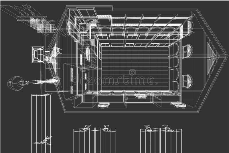 Favoritos Fundo Do Desenho Da Arquitetura, Plano Arquitetónico, Desenho De  NF91