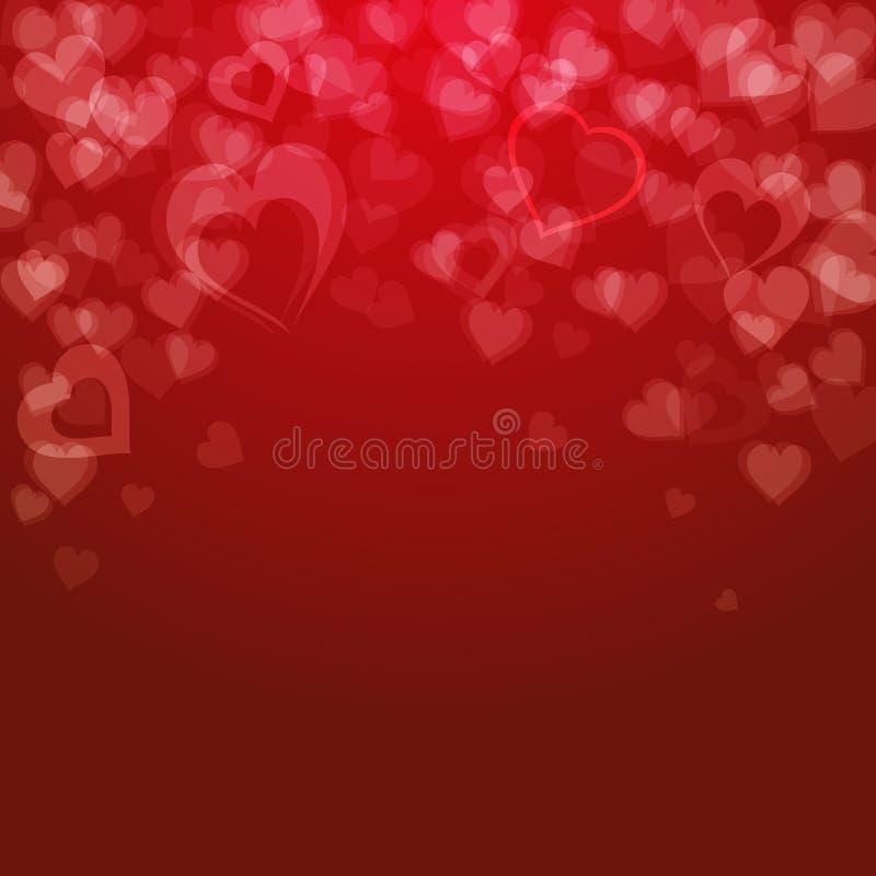 Fundo do dia de Valentim, ilustração royalty free