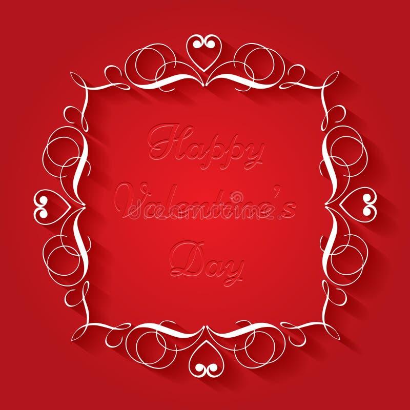 Fundo do dia de Valentim ilustração royalty free