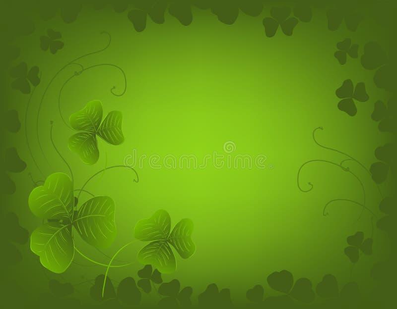 Fundo do dia do St. Patrick ilustração royalty free