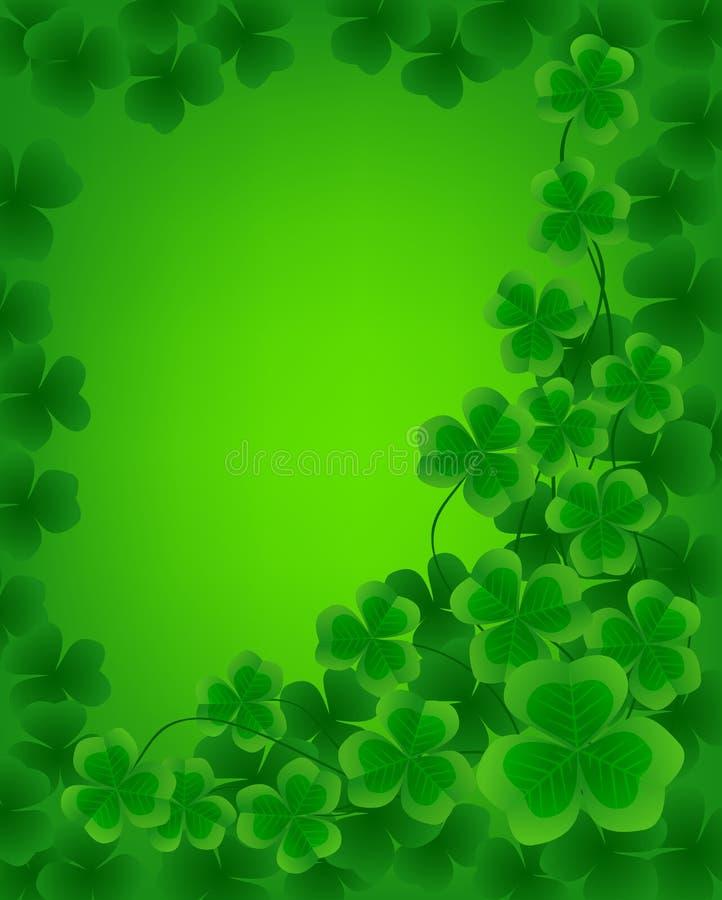 Fundo do dia do St. Patrick ilustração stock