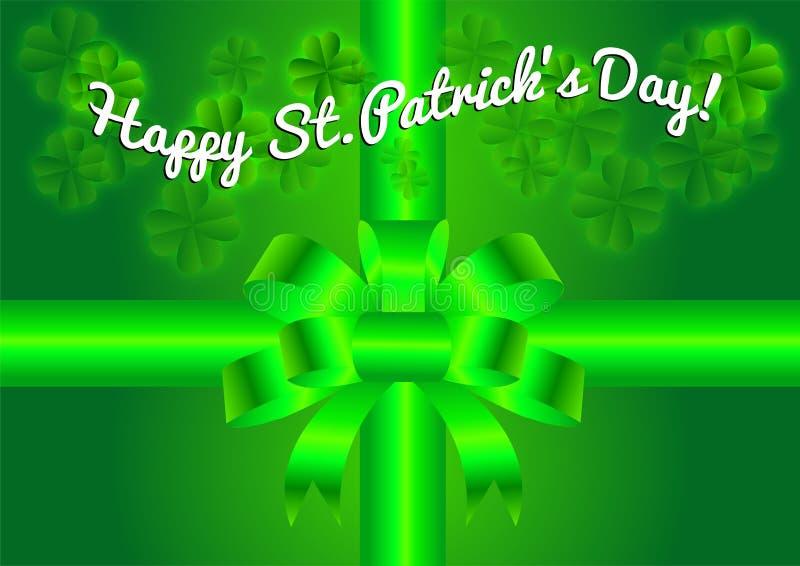 Fundo do dia do St Patricks ilustração stock