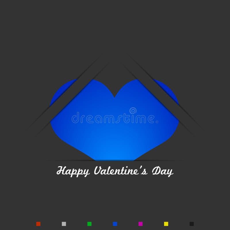 Fundo do dia do Valentim fotografia de stock