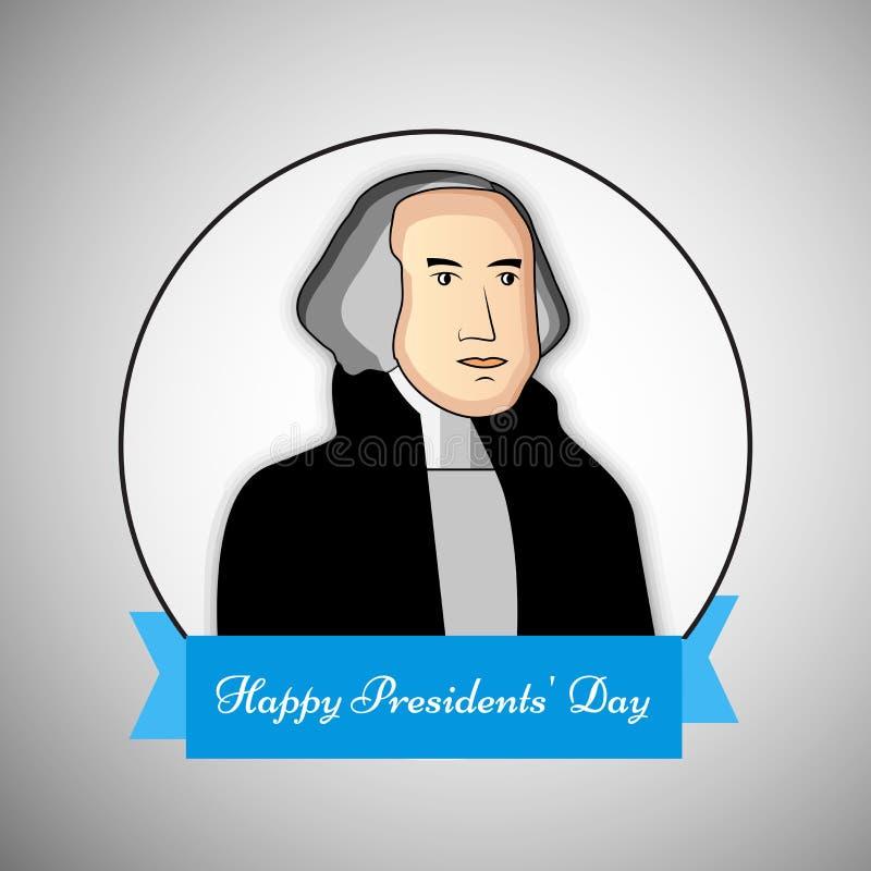 Fundo do dia dos presidentes ilustração royalty free