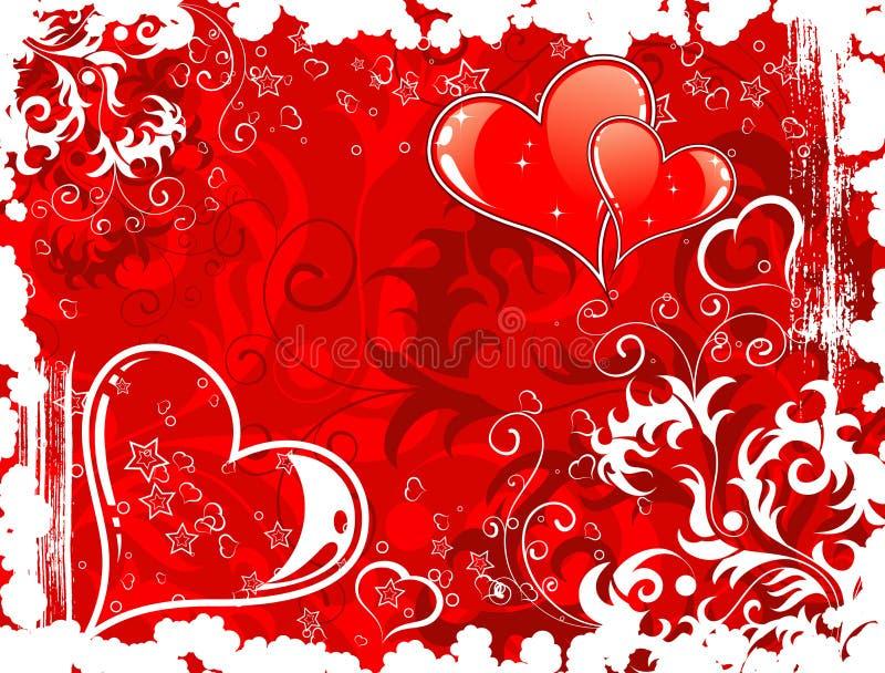 Fundo do dia dos Valentim com