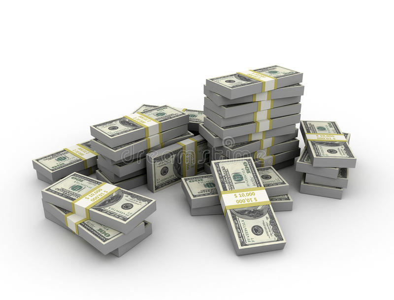 Fundo do dinheiro ilustração stock