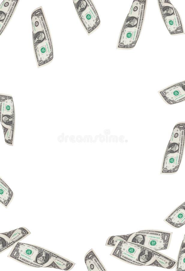 Fundo do dinheiro do dólar imagem de stock royalty free