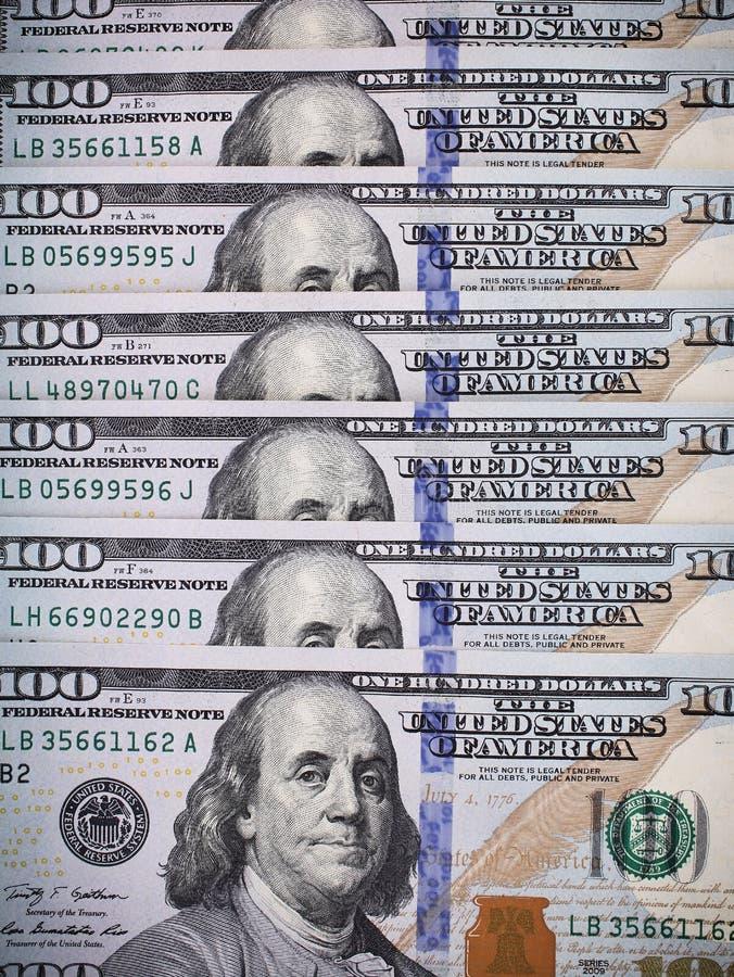 Fundo do dinheiro do dólar para você imagens de stock