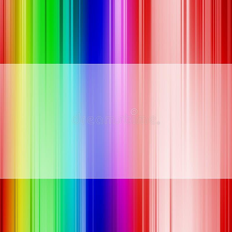 Fundo do espectro ilustração stock