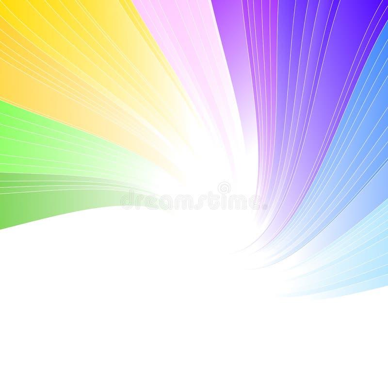 Fundo do espectro do arco-íris