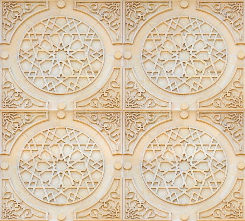 Fundo do estilo do Arabesque imagens de stock royalty free