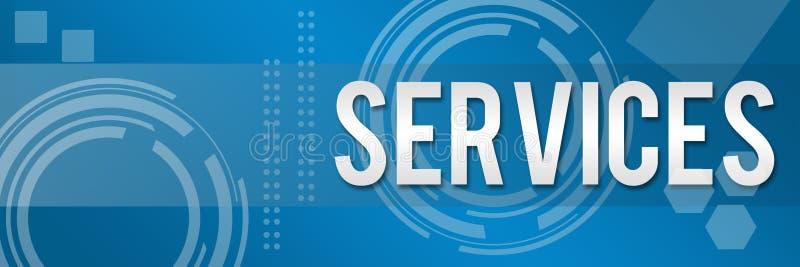 Fundo do estilo do negócio de serviços ilustração do vetor