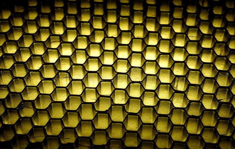 Fundo do favo de mel imagens de stock
