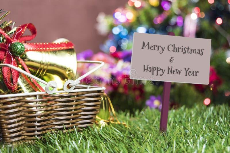 Fundo do feriado do Natal, fundo da tabela do Natal com de fotografia de stock
