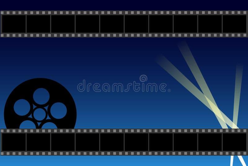 Fundo do filme ilustração do vetor