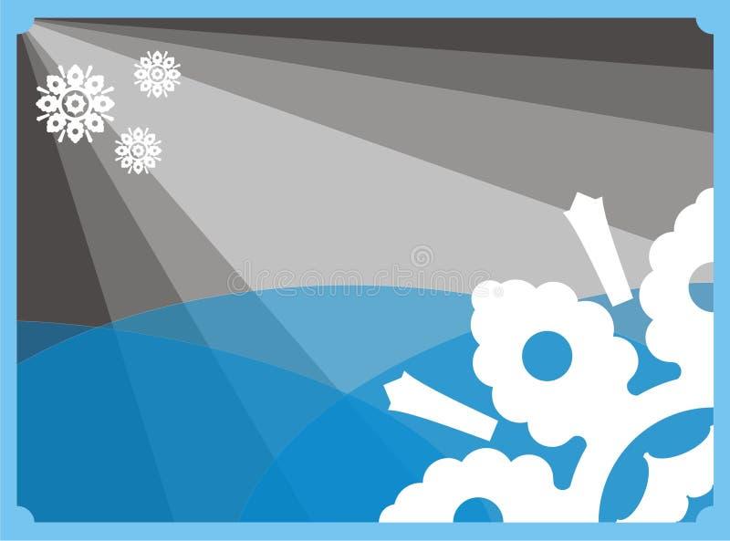 Fundo do floco de neve   imagem de stock