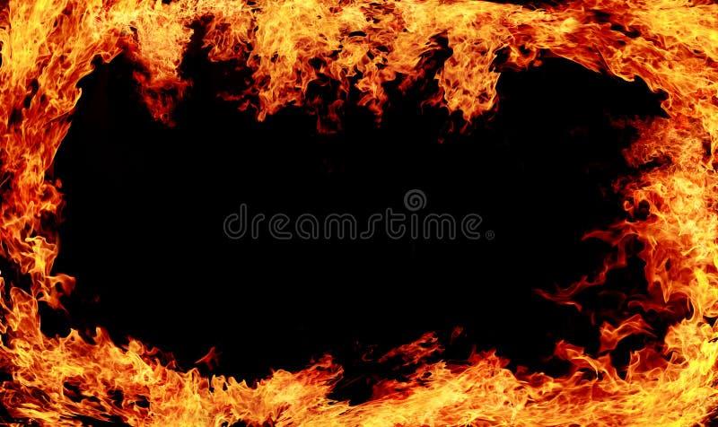 Fundo do fogo foto de stock royalty free