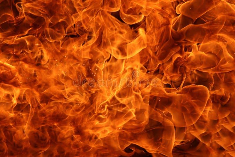 Fundo do fogo foto de stock