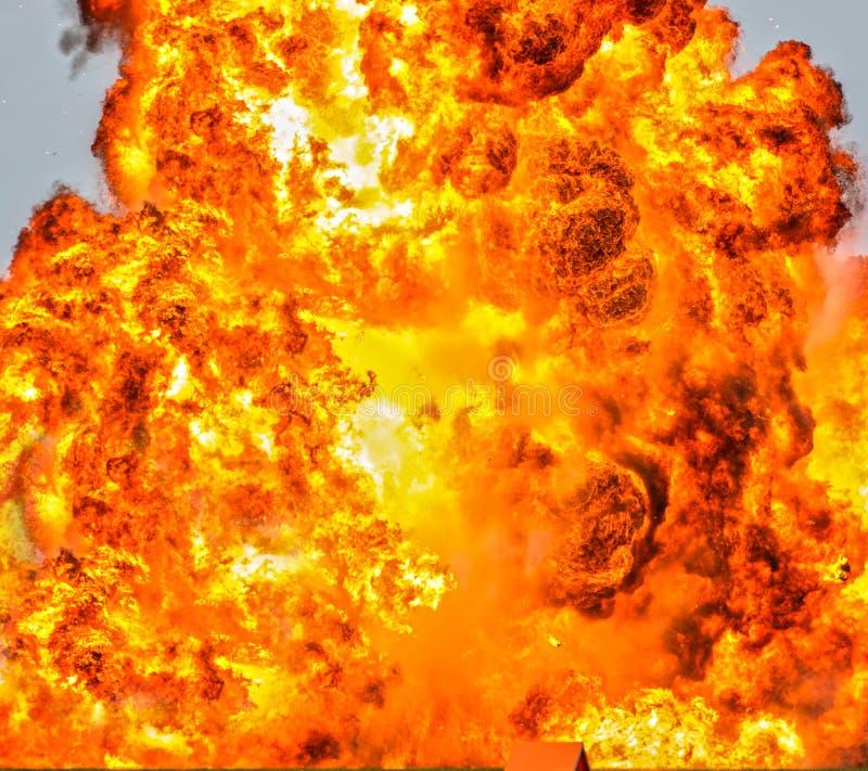 Fundo do fogo do inferno foto de stock royalty free
