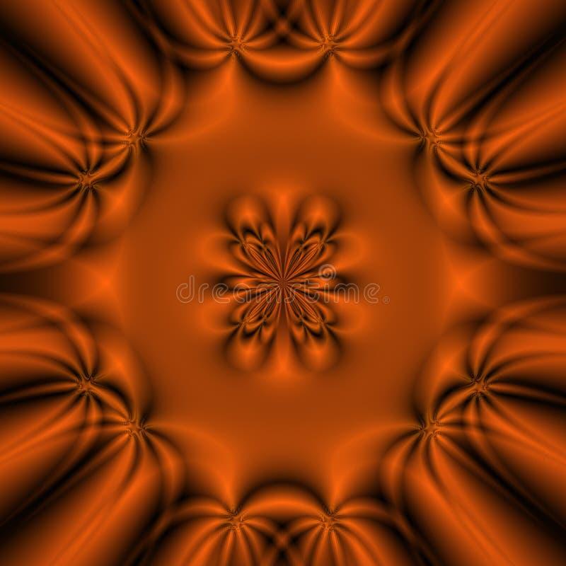 Fundo do fractal da fantasia ilustração royalty free