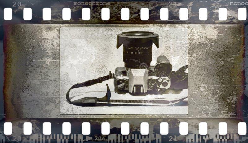 Fundo do frame de película (textura, fotos, ruído) fotos de stock royalty free
