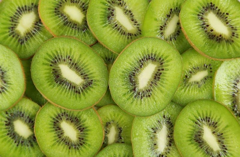 Fundo do fruto de quivi, fim acima fotos de stock royalty free