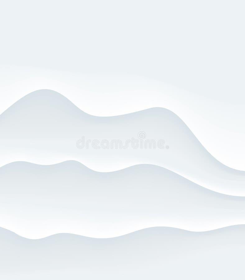 Fundo do fumo ilustração stock