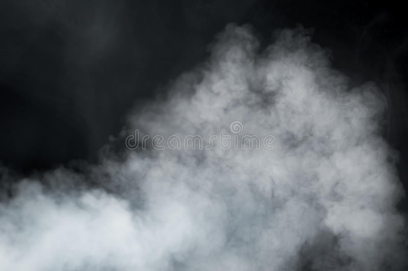 Fundo do fumo denso foto de stock