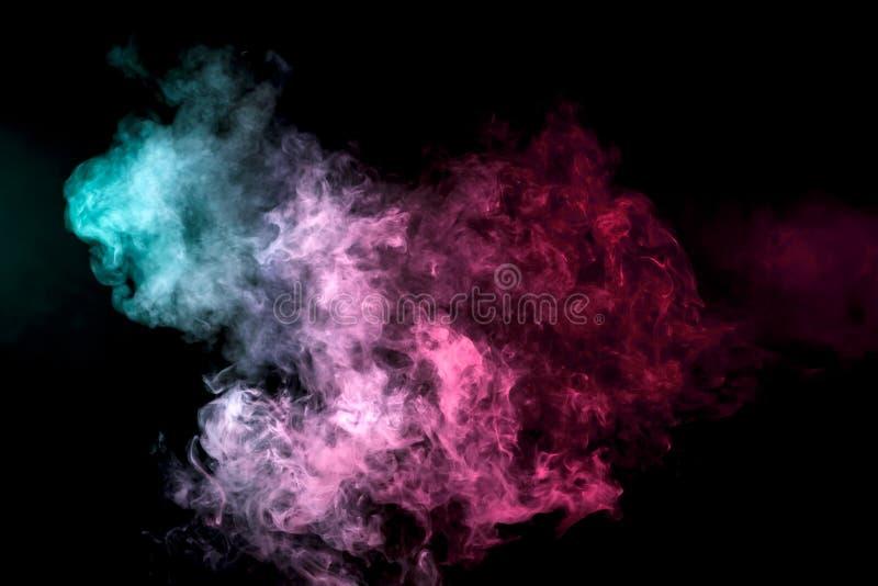 Fundo do fumo do vape ilustração stock