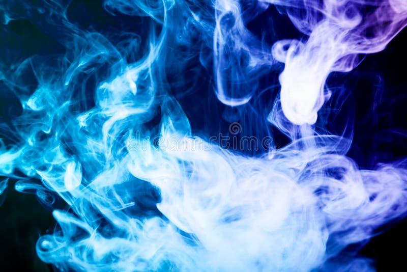 Fundo do fumo do vape foto de stock