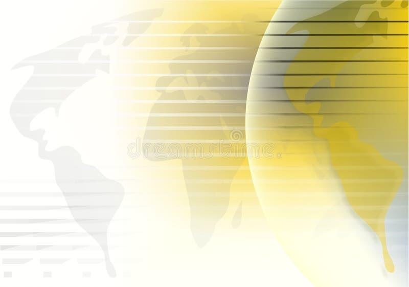 Fundo do globo ilustração royalty free