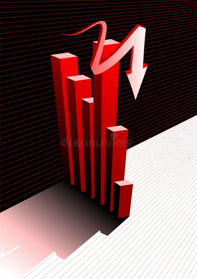 fundo do gráfico ilustração stock