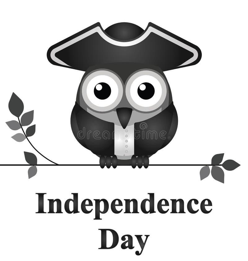 Fundo do grunge da independência Day ilustração royalty free