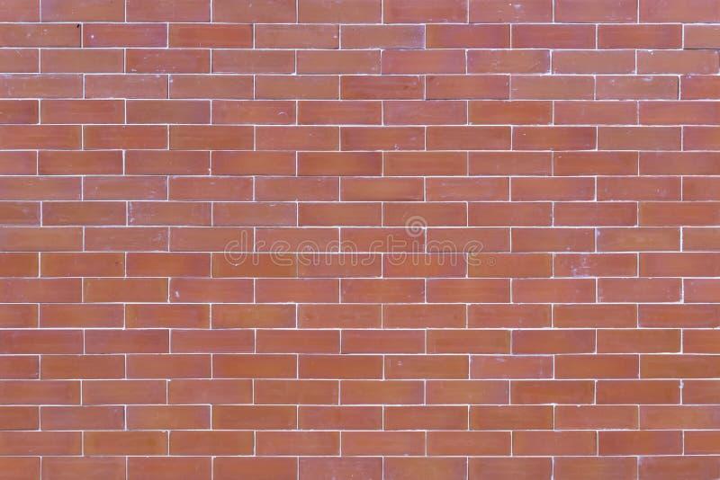 Fundo do grunge da textura da parede de tijolo vermelho Uso de maio ao de interior imagens de stock