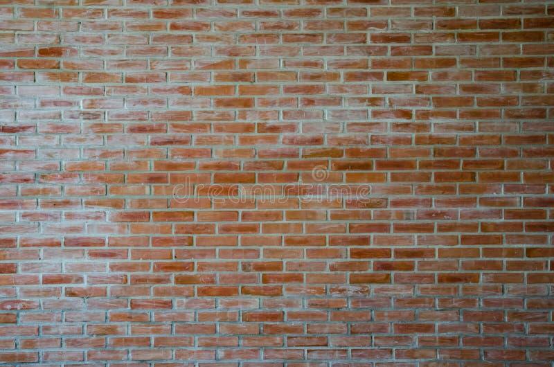 Fundo do grunge da textura da parede de tijolo vermelho fotos de stock
