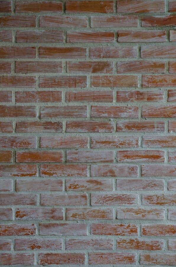 Fundo do grunge da textura da parede de tijolo vermelho foto de stock