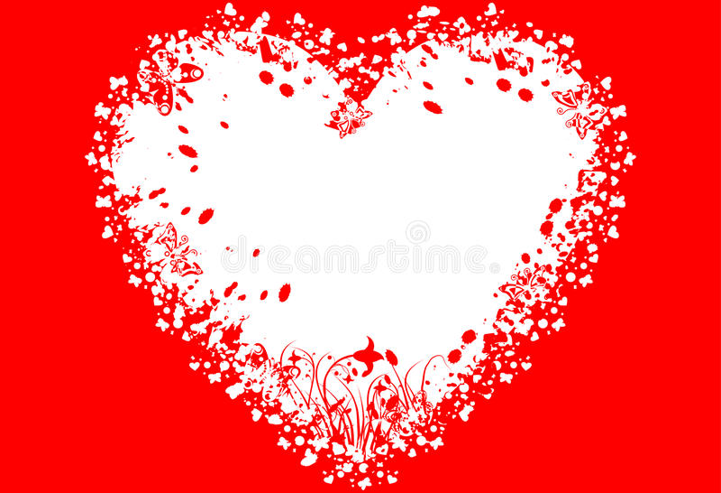 Download Fundo Do Grunge Dos Valentim, Vetor Ilustração do Vetor - Ilustração de fevereiro, desenhos: 12813160